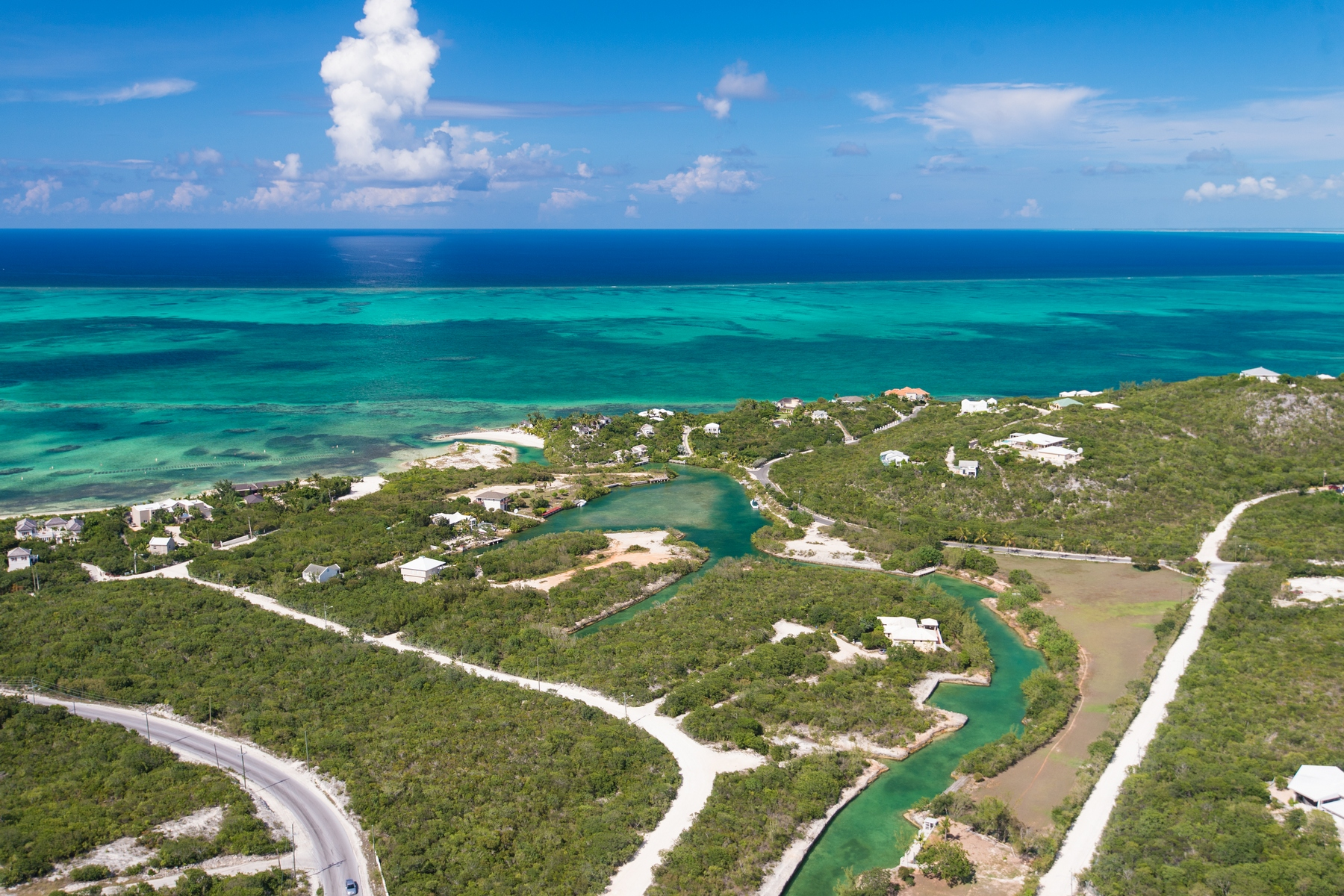 Land for Sale at Thompsons Cove Residential Canal Lotntial Land Canalfront Thompson Cove, Providenciales TCI BWI Turks And Caicos Islands