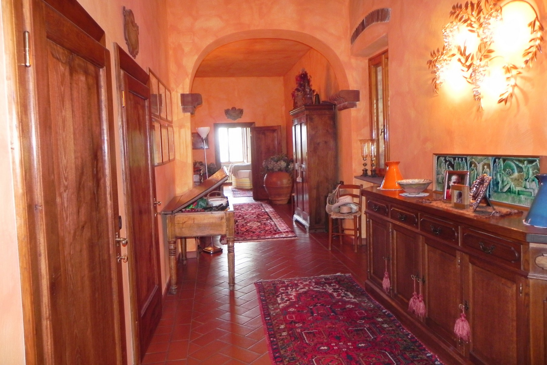Additional photo for property listing at Chianti vineyard and villa Via San Leonino Panzano In Chianti, Florence 50022 Italy