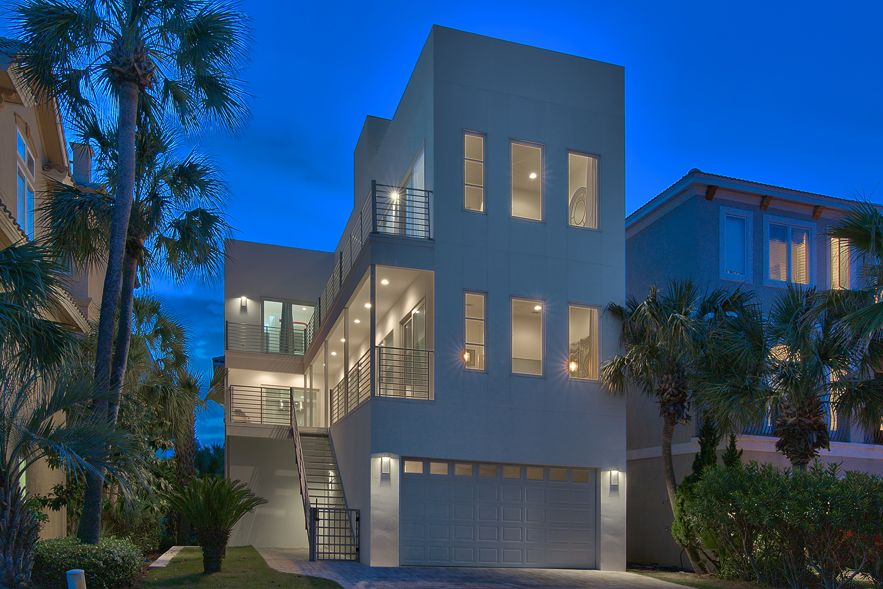 Maison unifamiliale pour l Vente à STRIKING GULF VIEW CONTEMPORARY 33 Caicos Cay Destin, Florida, 32541 États-Unis
