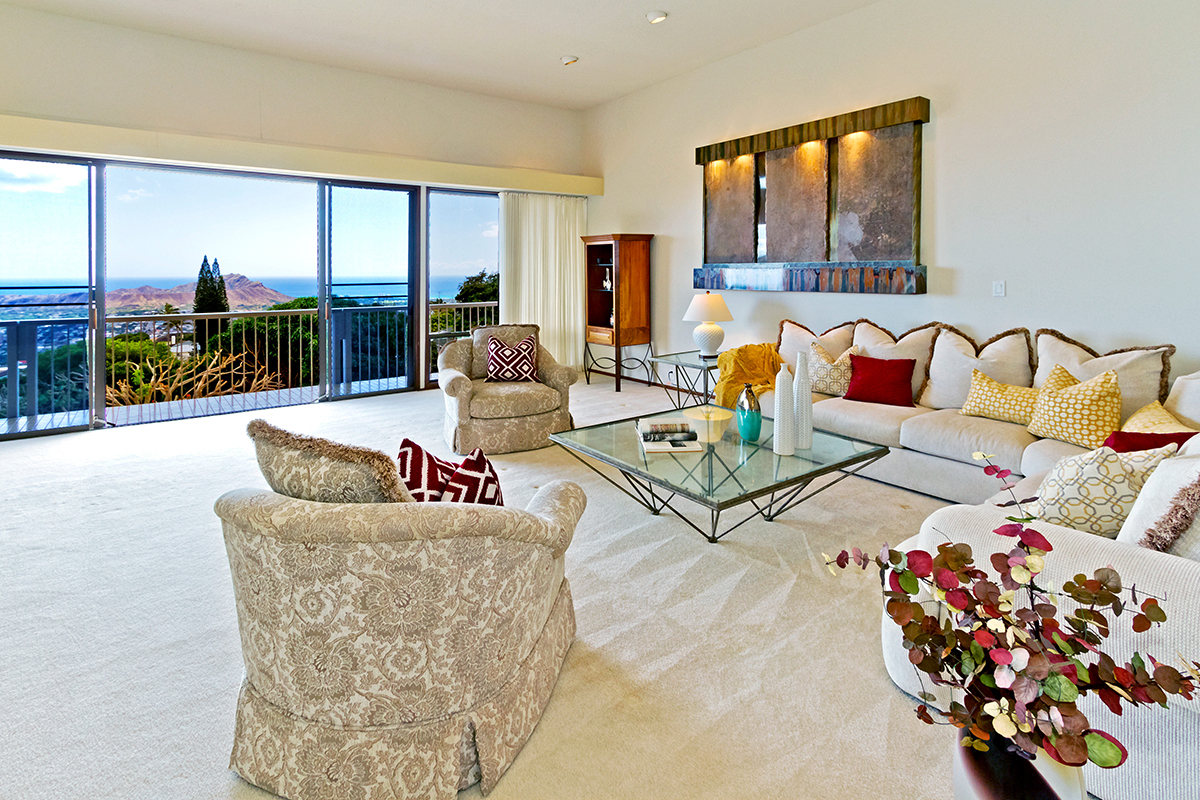 Single Family Home for Sale at Private Dramatic Views of Diamond Head 4557 Sierra Drive Honolulu, Hawaii 96816 United States