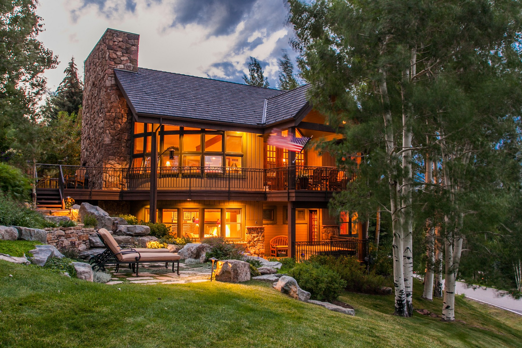 Property Of Elegant mountain home with 180 degree views of Beaver Creek.