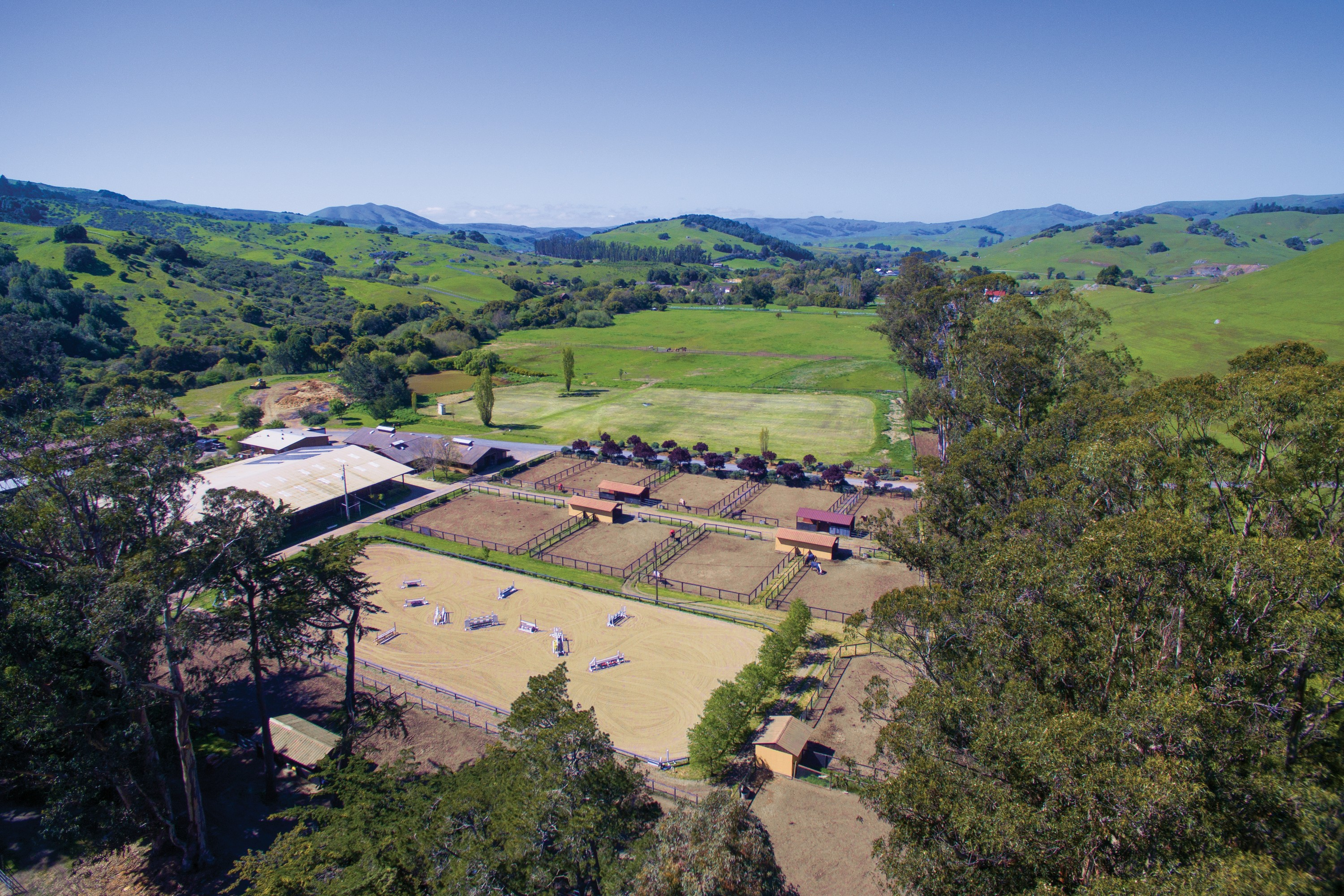 Ferme / Ranch / Plantation pour l Vente à Equestrian Estate 3431 Nicasio Valley Rd Nicasio, Californie 94946 États-Unis