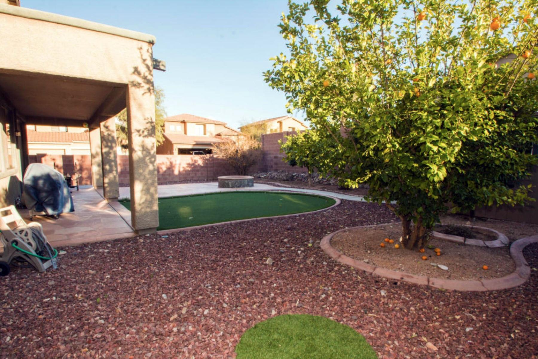 Частный односемейный дом для того Продажа на Fabulous 5 Bedroom Home in Mesquite Ranch 10662 E Avalon Park Street Tucson, Аризона 85747 Соединенные Штаты