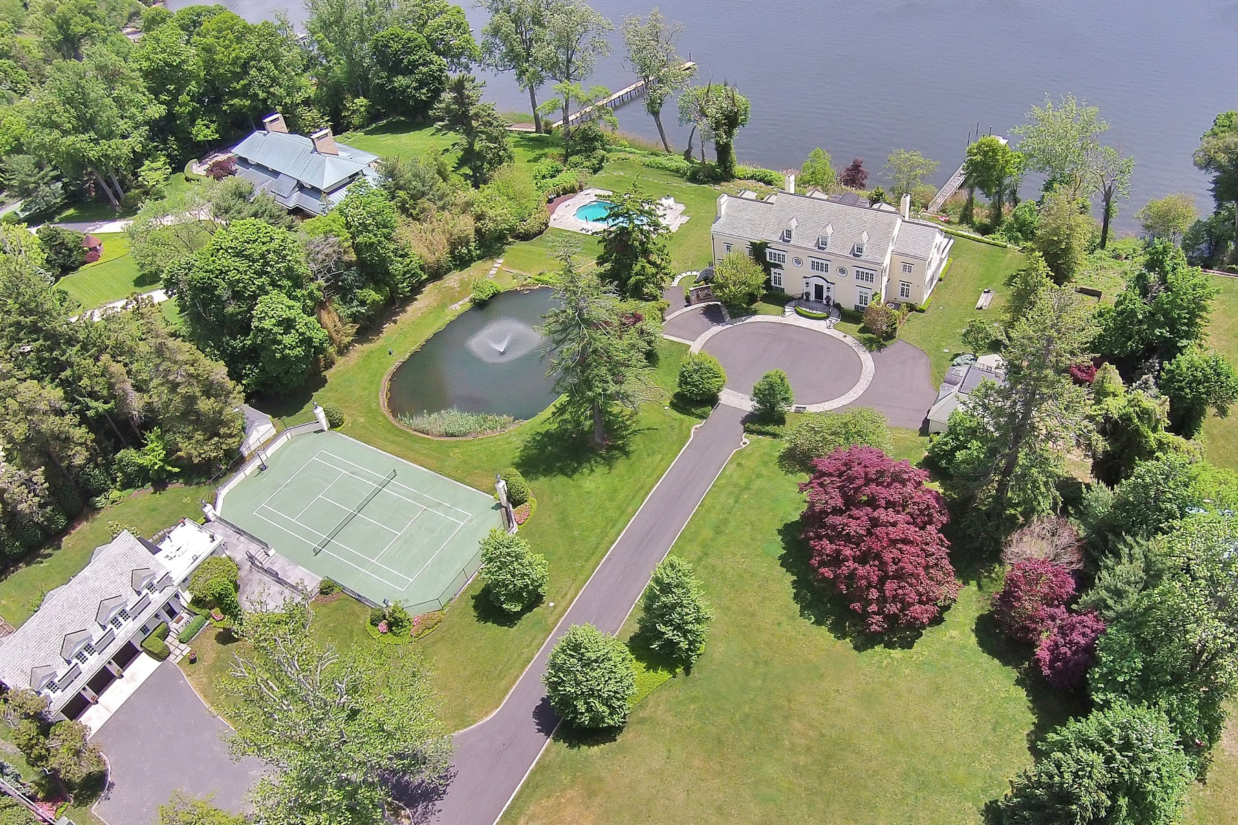 Single Family Home for Sale at PREMIER WATERFRONT - SPECTACULAR NEW PRICE 536 Navesink River Rd Middletown, New Jersey 07748 United States