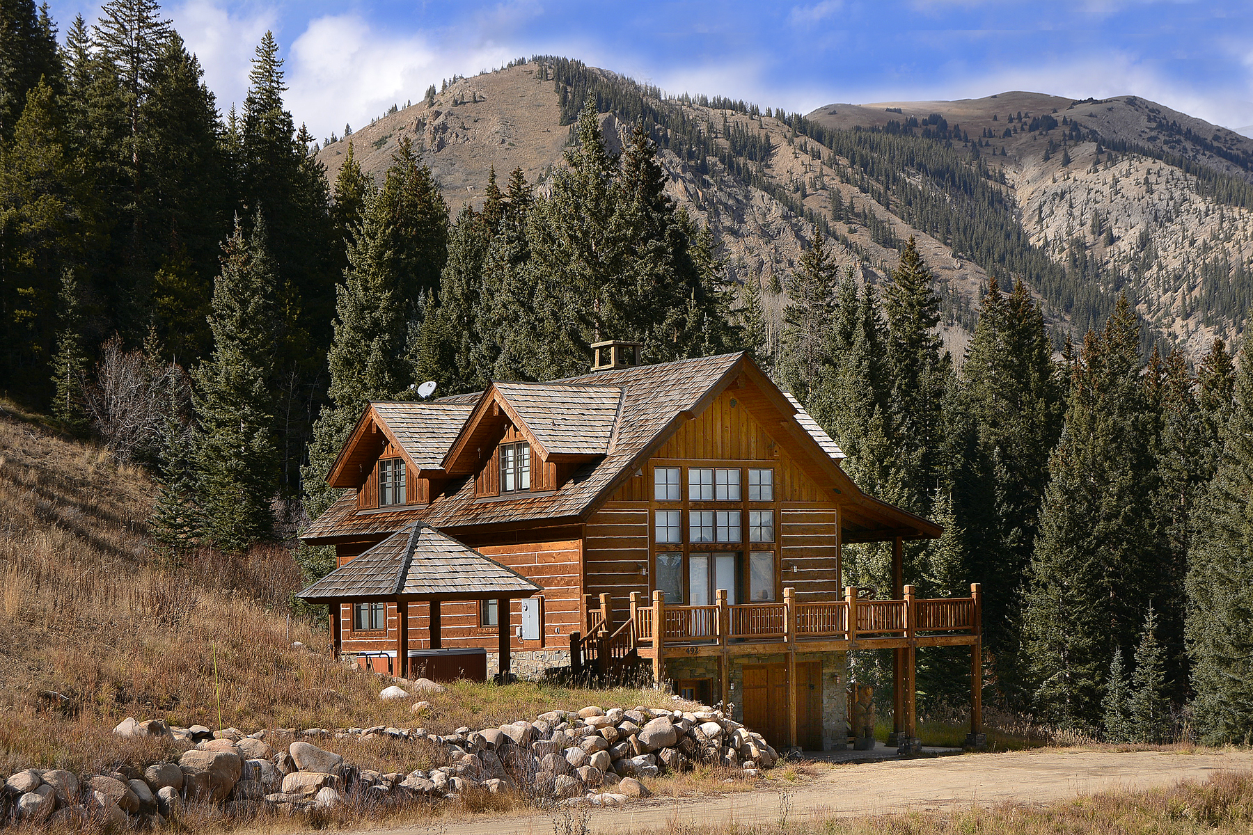 Single Family Home for Sale at Exclusive Mountain Retreat 492 Coal Camp Road Crested Butte, Colorado 81224 United States