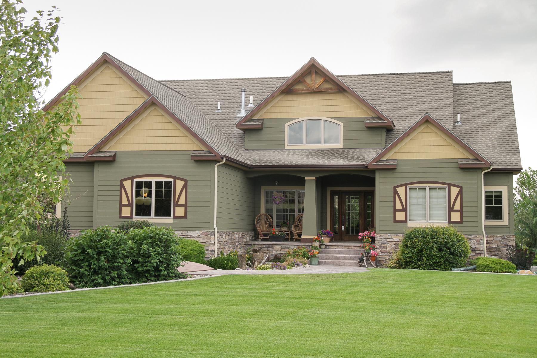 Casa para uma família para Venda às 9683 Mahlum Lane Missoula, Montana 59808 Estados Unidos