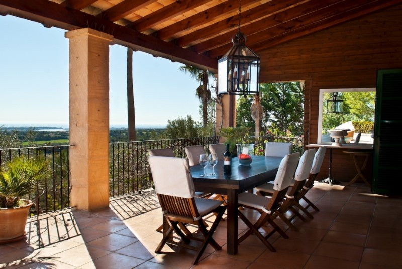 Property Of Villa mit Panorama-Meerblick in Porto Colom