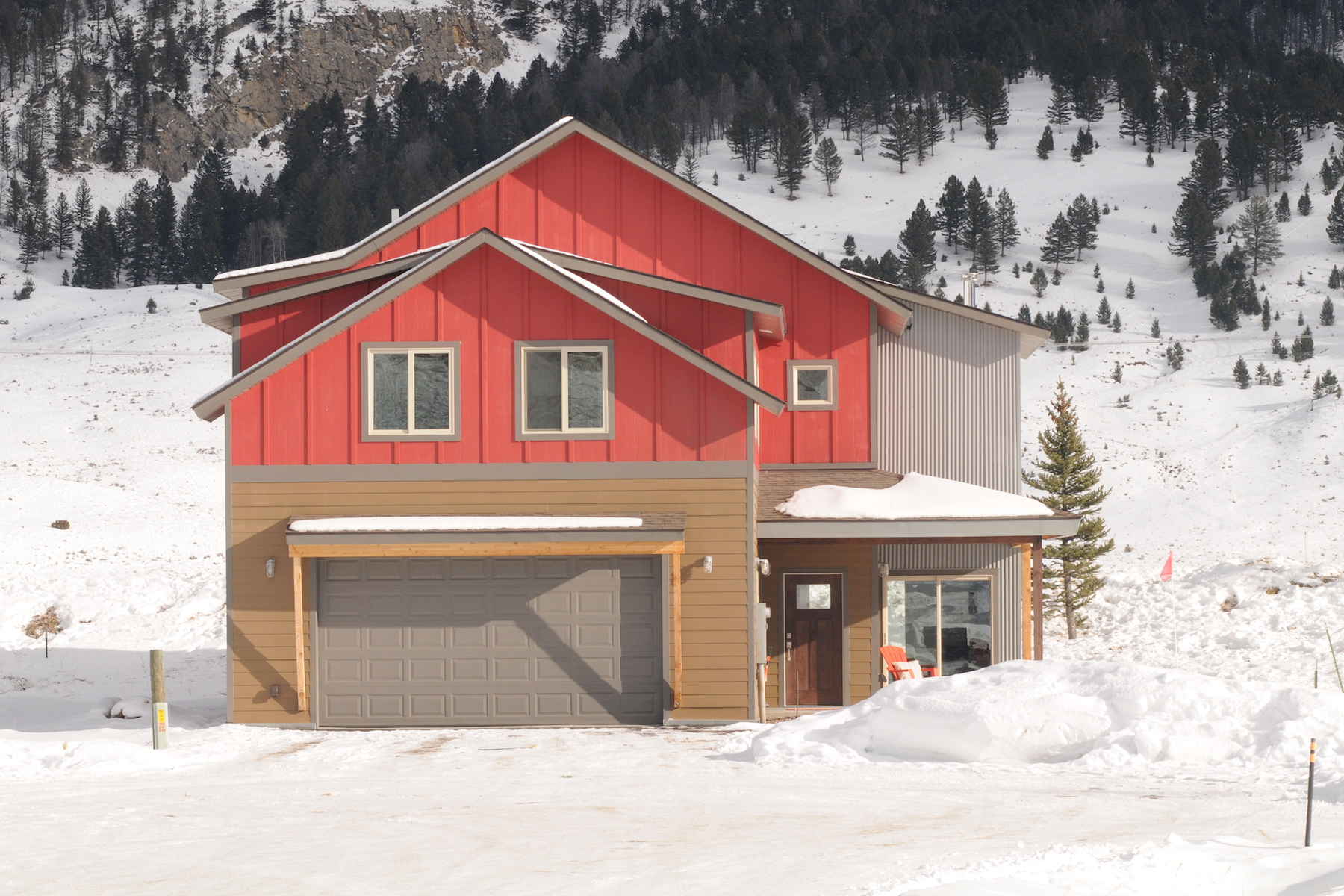 Single Family Home for Sale at Big Sky's Ramshorn Custom Home - To Be Built 90 Primrose Big Sky, Montana, 59716 United States