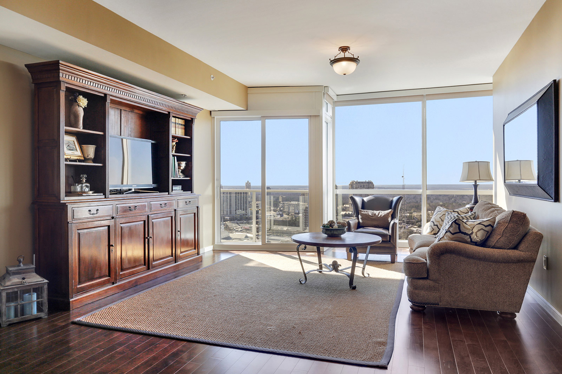 Property For Sale at Stunning 27th Floor Condo In Buckhead