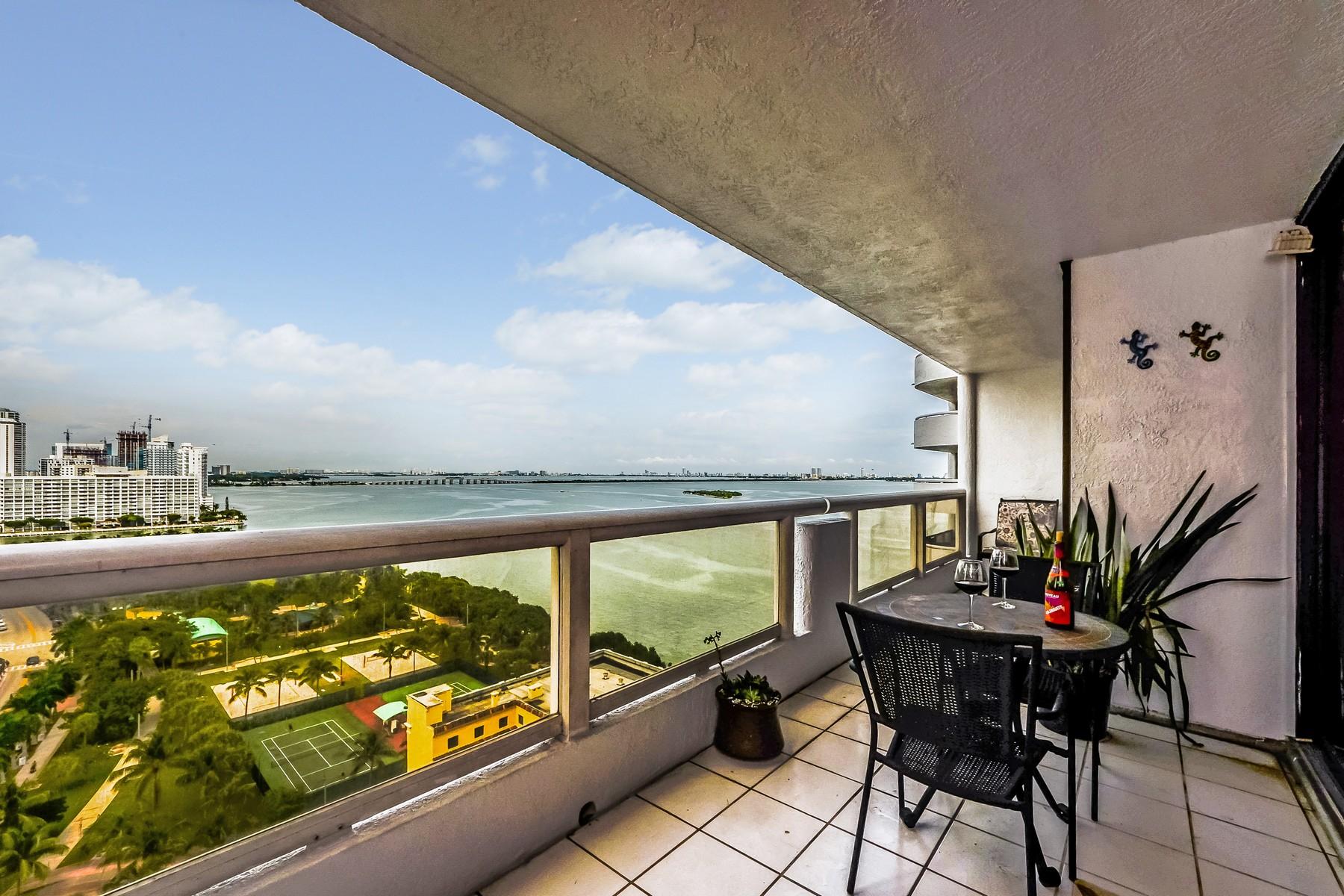 Condominium for Sale at 1717 N Bayshore Dr #A-2040 1717 N Bayshore Dr, #A-2040 Miami, Florida 33132 United States