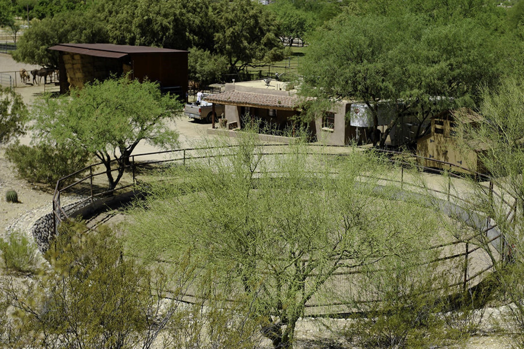 sales property at 4.14 acre equestrian property in the heart of Tucson