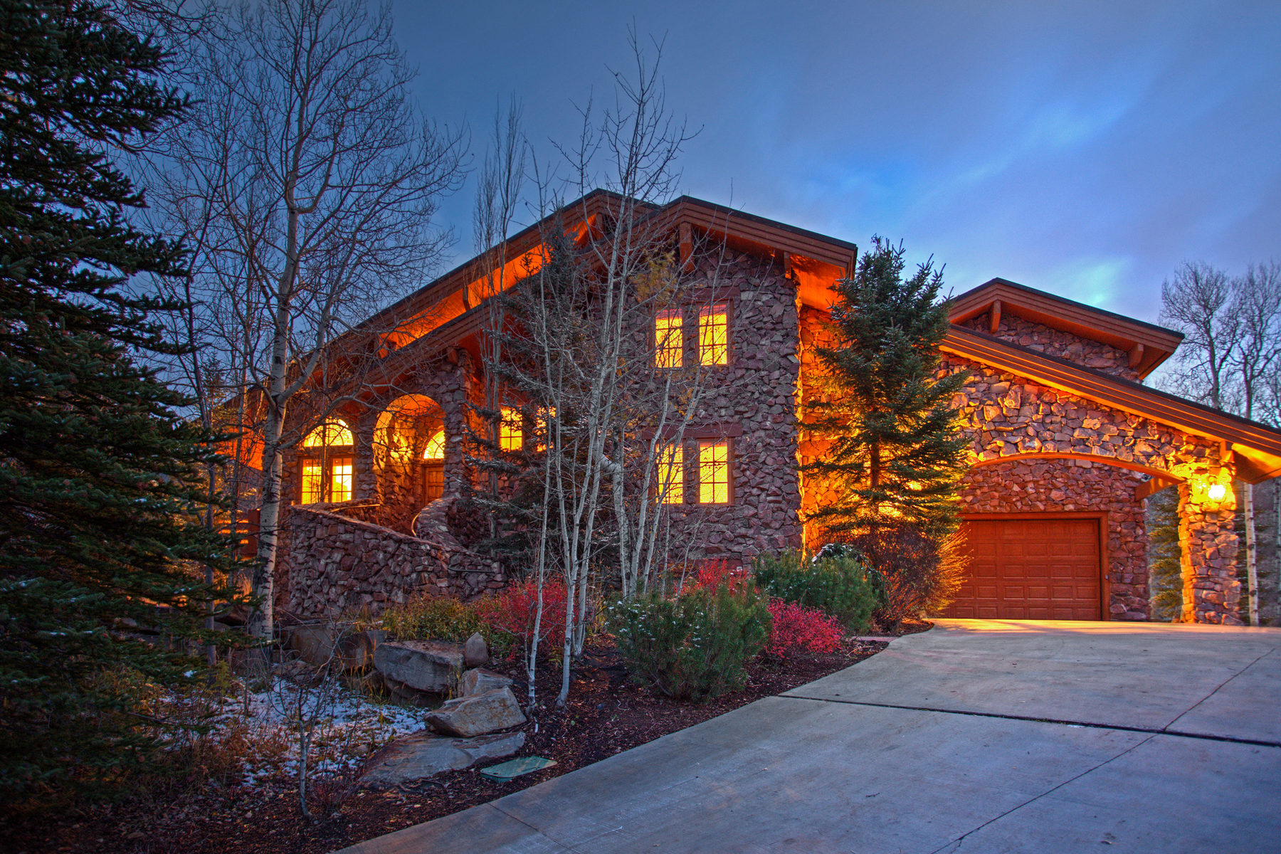 Single Family Home for Sale at Heavily Wooded Mountain Home 8281 Trails Dr Park City, Utah, 84098 United States