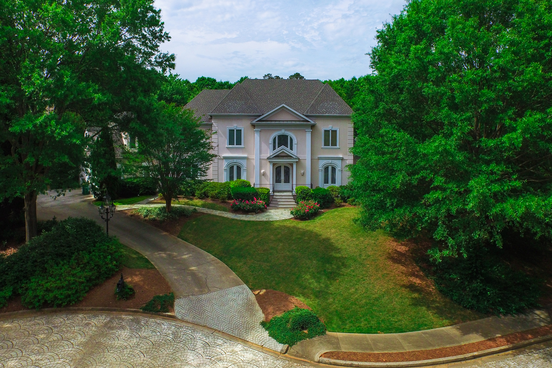 Single Family Home for Sale at Elegant Custom Built Home In Desirable Sandy Springs Neighborhood 5650 Cross Gate Drive Sandy Springs, Georgia 30327 United States