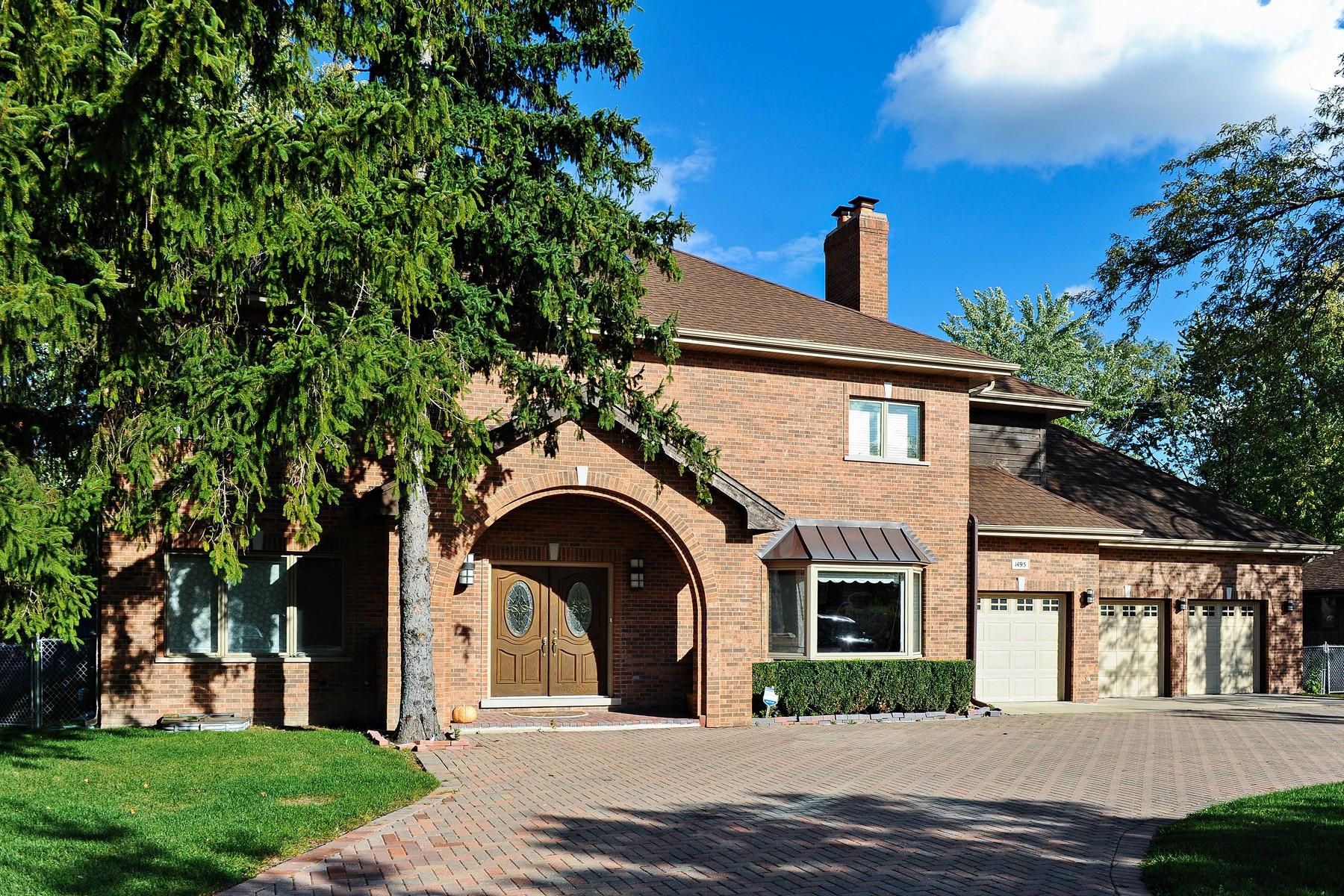 Moradia para Venda às Grand Northbrook Home 1495 Sanders Road Northbrook, Illinois, 60062 Estados Unidos