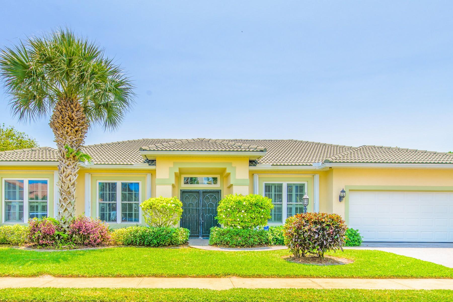 Single Family Home for Sale at Ocean Ridge 241 Ocean Ridge Drive Melbourne Beach, Florida, 32951 United States