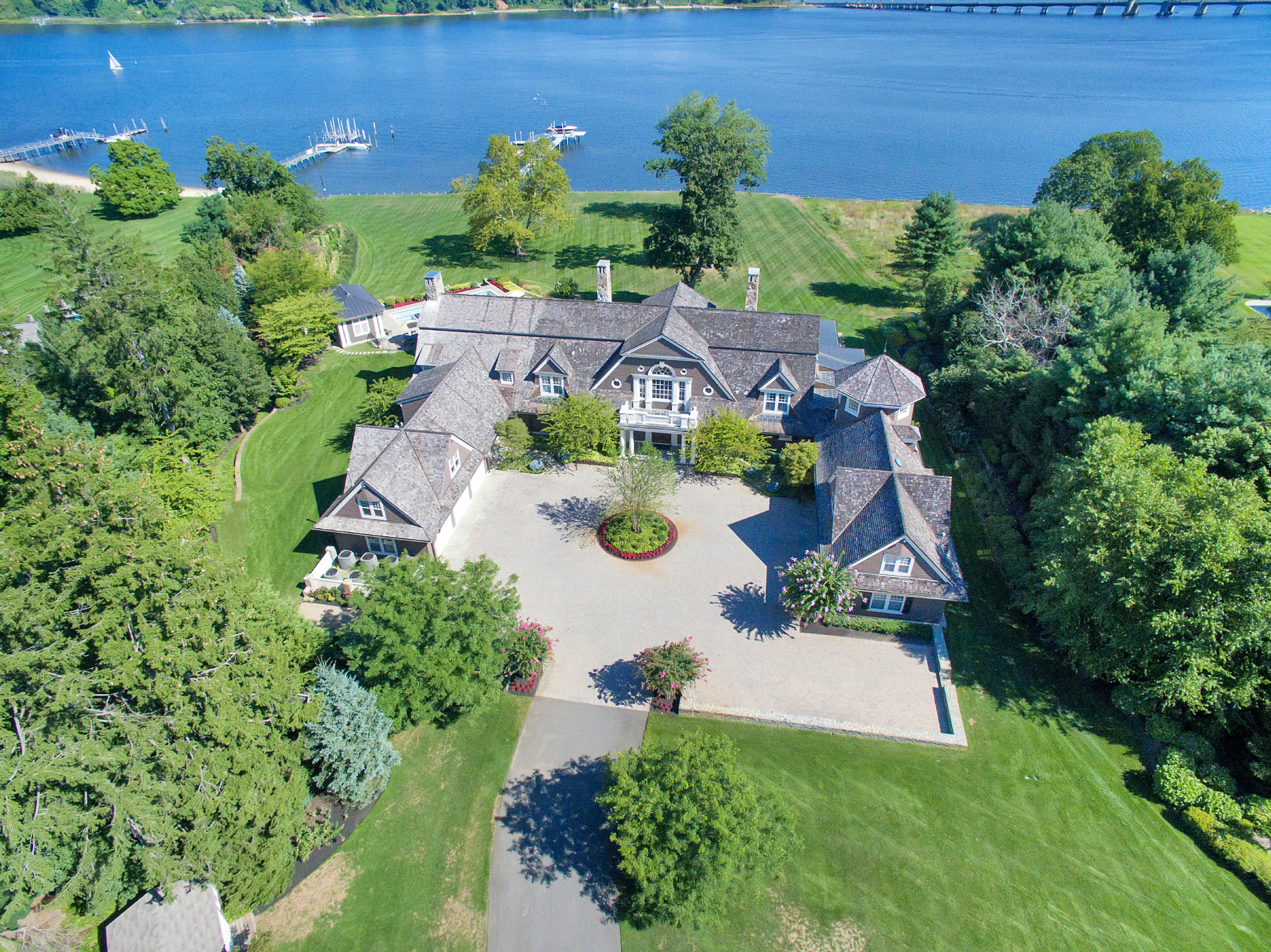"""Single Family Home for Sale at """"Riverblades"""" 74 West River Road Rumson, New Jersey 07760 United States"""