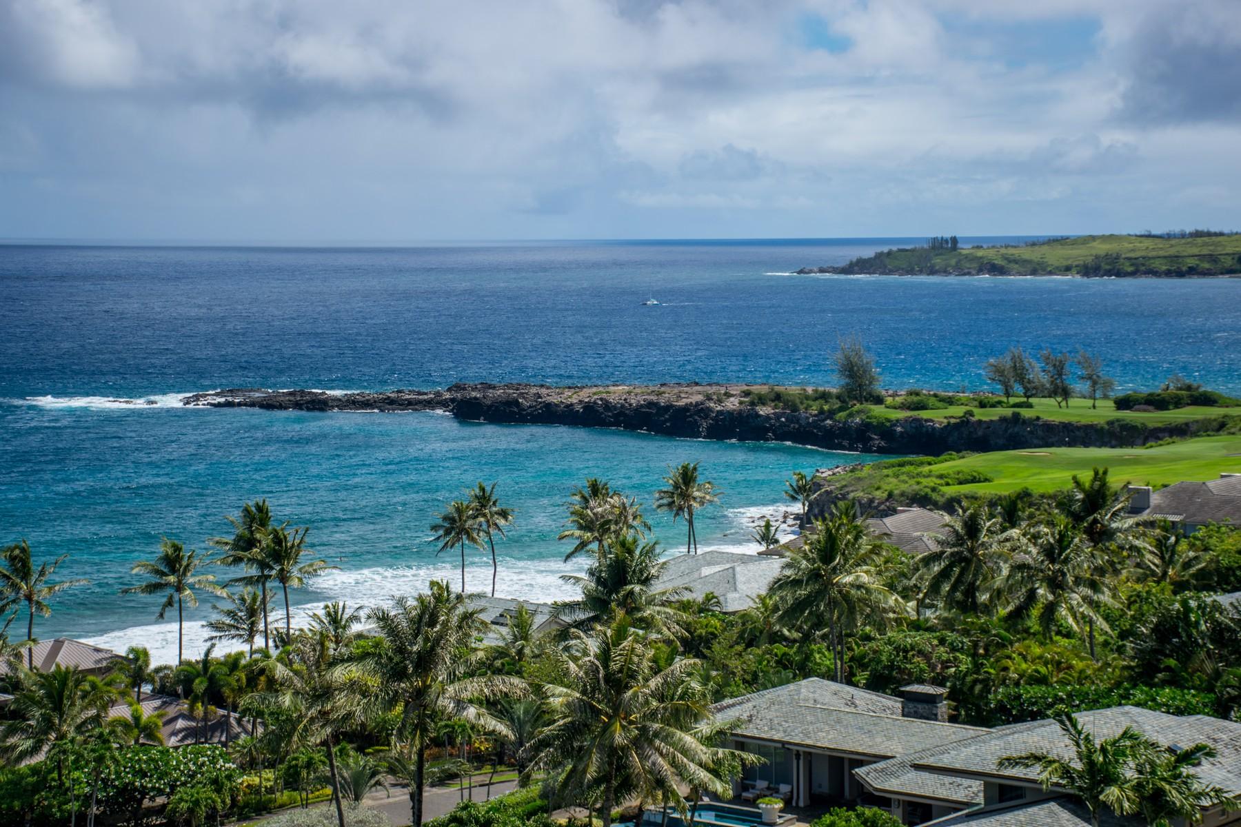 コンドミニアム のために 売買 アット Dramatic Ocean View Villa Overlooking The Pacific Ocean in Kapalua, Maui 100 Ridge Road, Kapalua Ridge Villa 2221-2 Kapalua, ハワイ, 96761 アメリカ合衆国