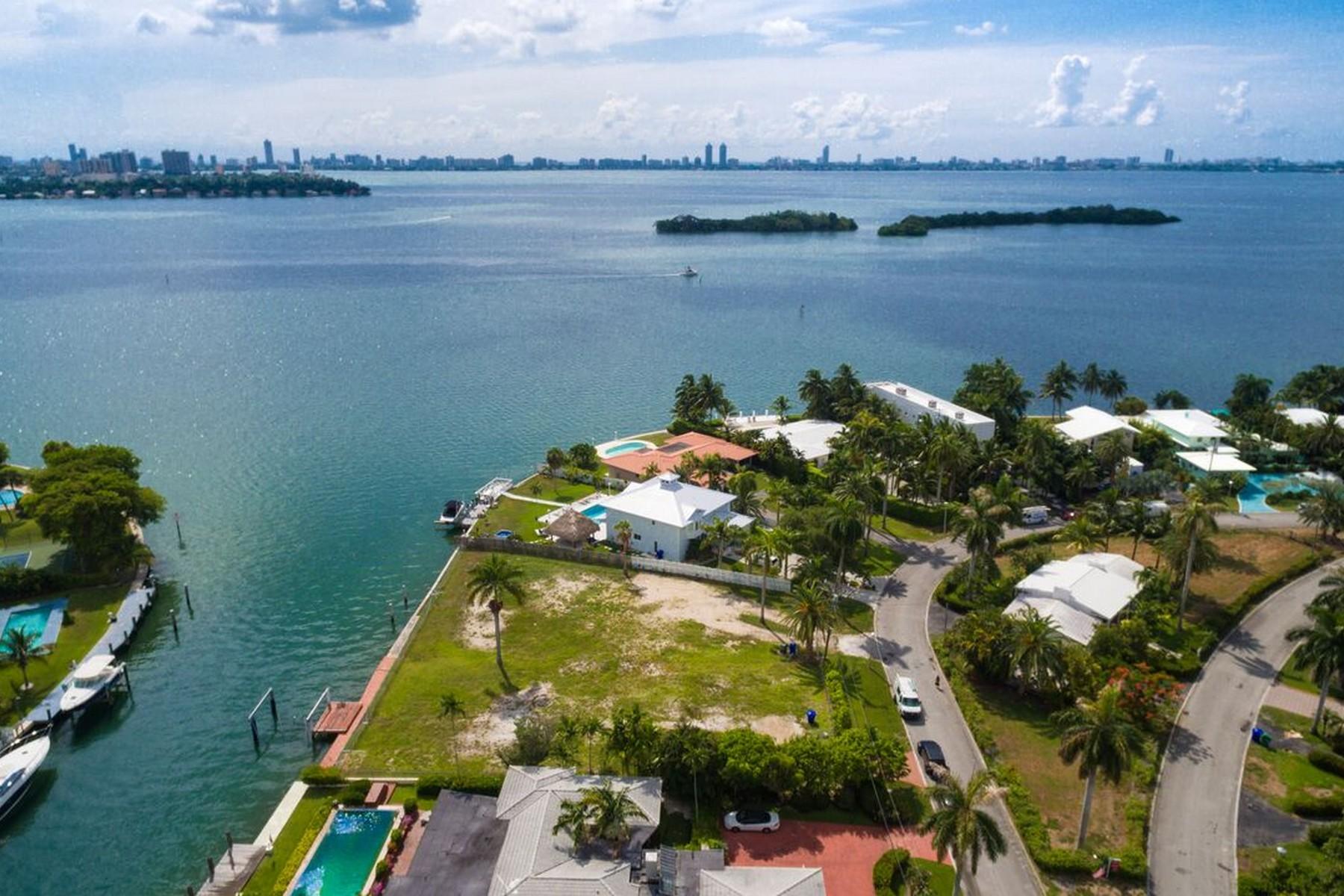 Terrain pour l Vente à 1125 Belle Meade Island Drive Miami, Florida 33138 États-Unis