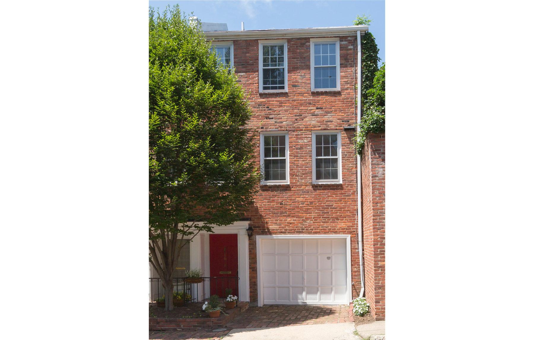 Casa Unifamiliar Adosada por un Venta en Georgetown 1678 32nd Street Nw Georgetown, Washington, Distrito De Columbia 20007 Estados Unidos