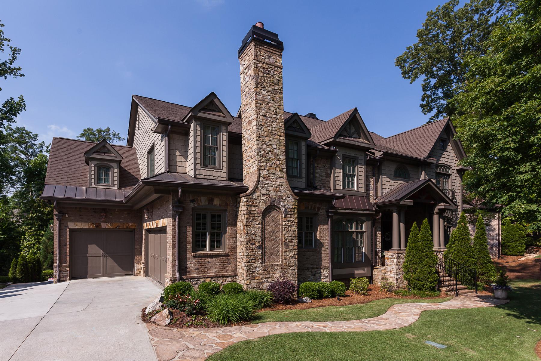 Casa para uma família para Venda às Shows Like A Model 1539 Windsor Parkway NE Brookhaven, Atlanta, Geórgia 30319 Estados Unidos