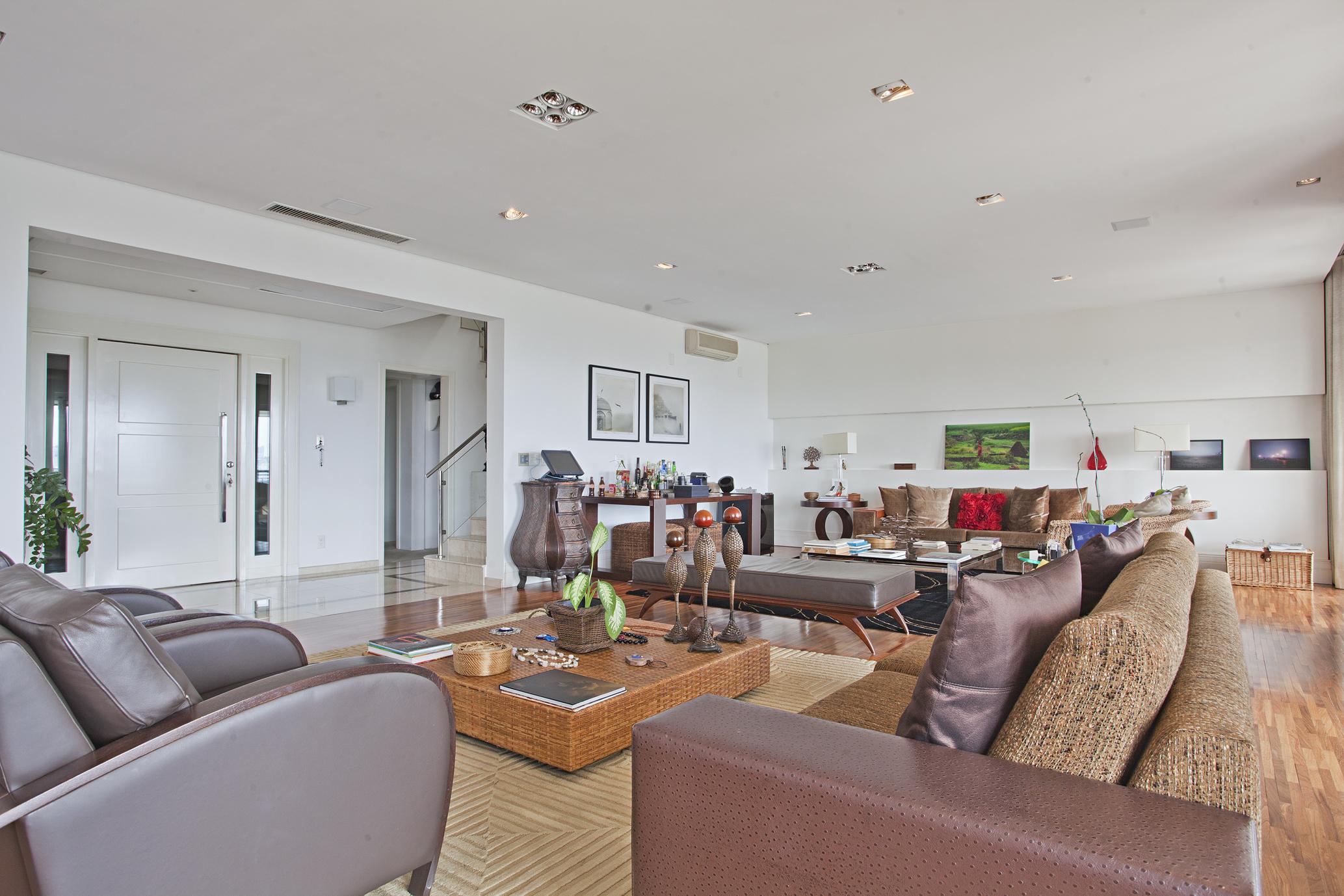 단독 가정 주택 용 매매 에 Penthouse with view to Iberapuera Park Rua Afonso Braz Sao Paulo, 상파울로, 04511010 브라질