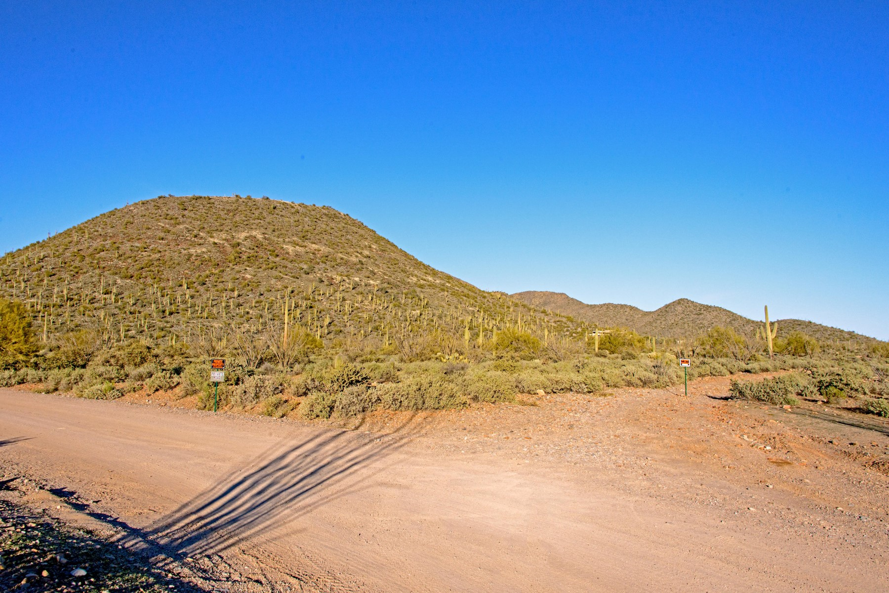 Terreno por un Venta en Pristine Acreage 7500 E Highland Rd MB Cave Creek, Arizona 85331 Estados Unidos