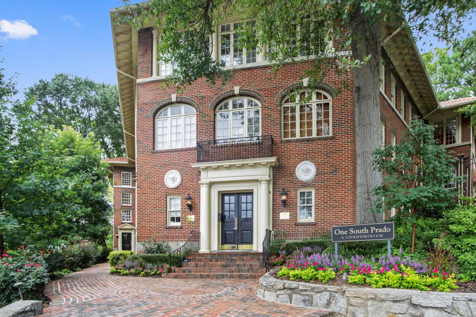 Condominium for Sale at A slice of Europe in Ansley Park. 1 S Prado NE No. 5A Ansley Park, Atlanta, Georgia, 30309 United States