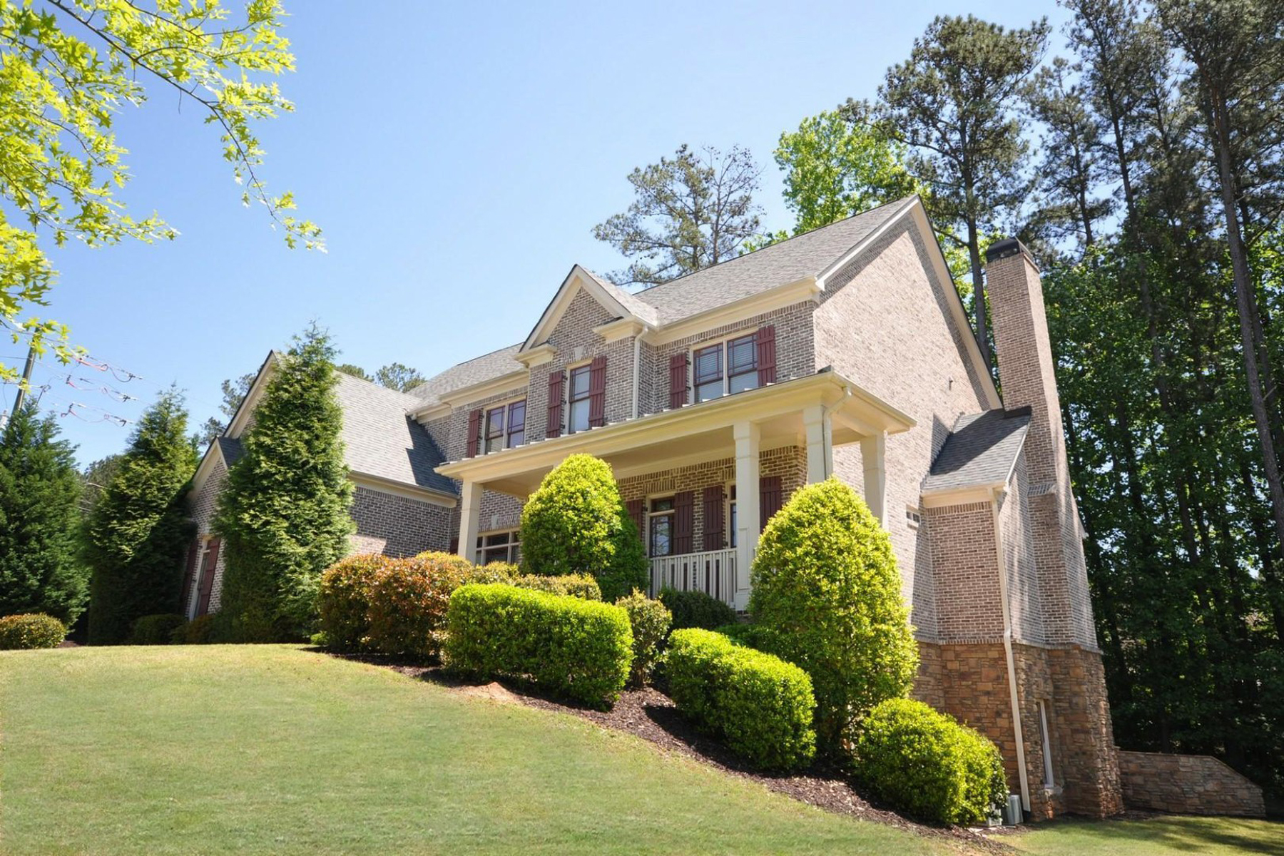 Maison unifamiliale pour l Vente à Former Model Home 674 Chestatee Creek Drive NW Acworth, Georgia 30101 États-Unis