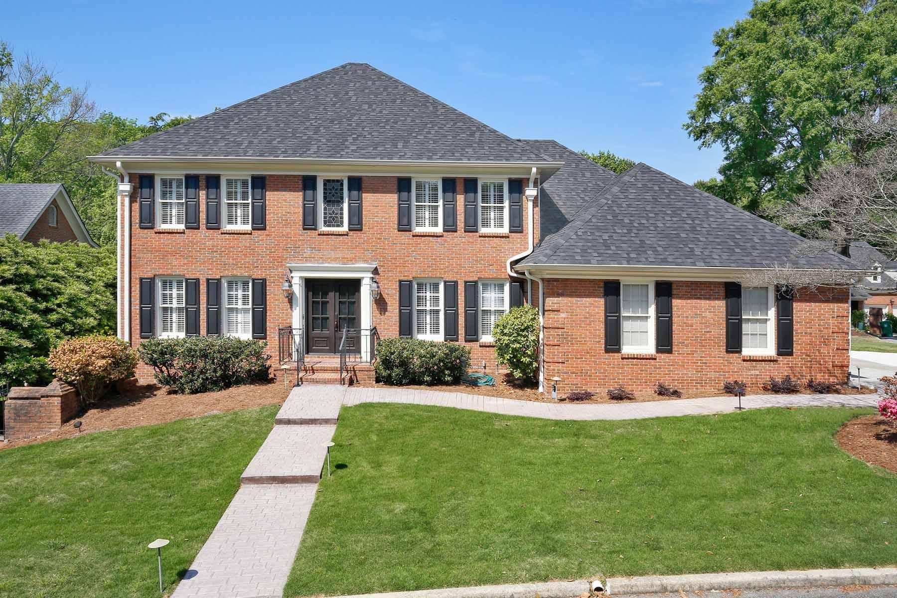 獨棟家庭住宅 為 出售 在 Completely Renovated with Park Like Backyard Intown 1411 Sheridan Walk NE Atlanta, 喬治亞州, 30324 美國