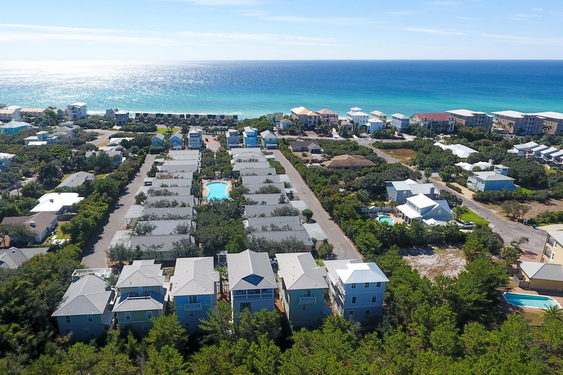 Einfamilienhaus für Verkauf beim INVITING COTTAGE WITH THIRD FLOOR GULF VIEWS 144 Cottage Way Seacrest, Florida, 32461 Vereinigte Staaten