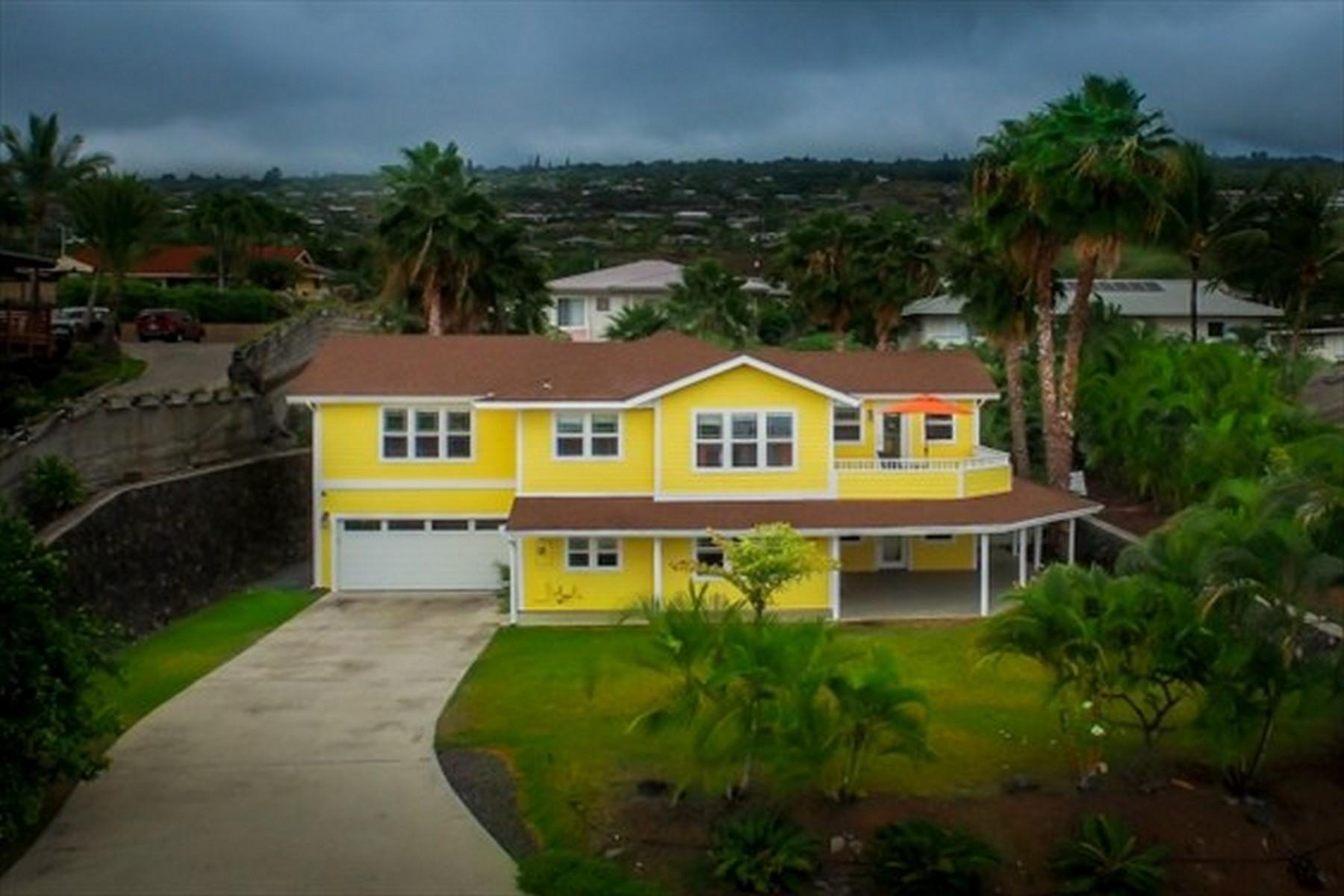 独户住宅 为 销售 在 Komohana Kai 76-6359 Kaheiau St Kailua-Kona, 夏威夷 96740 美国