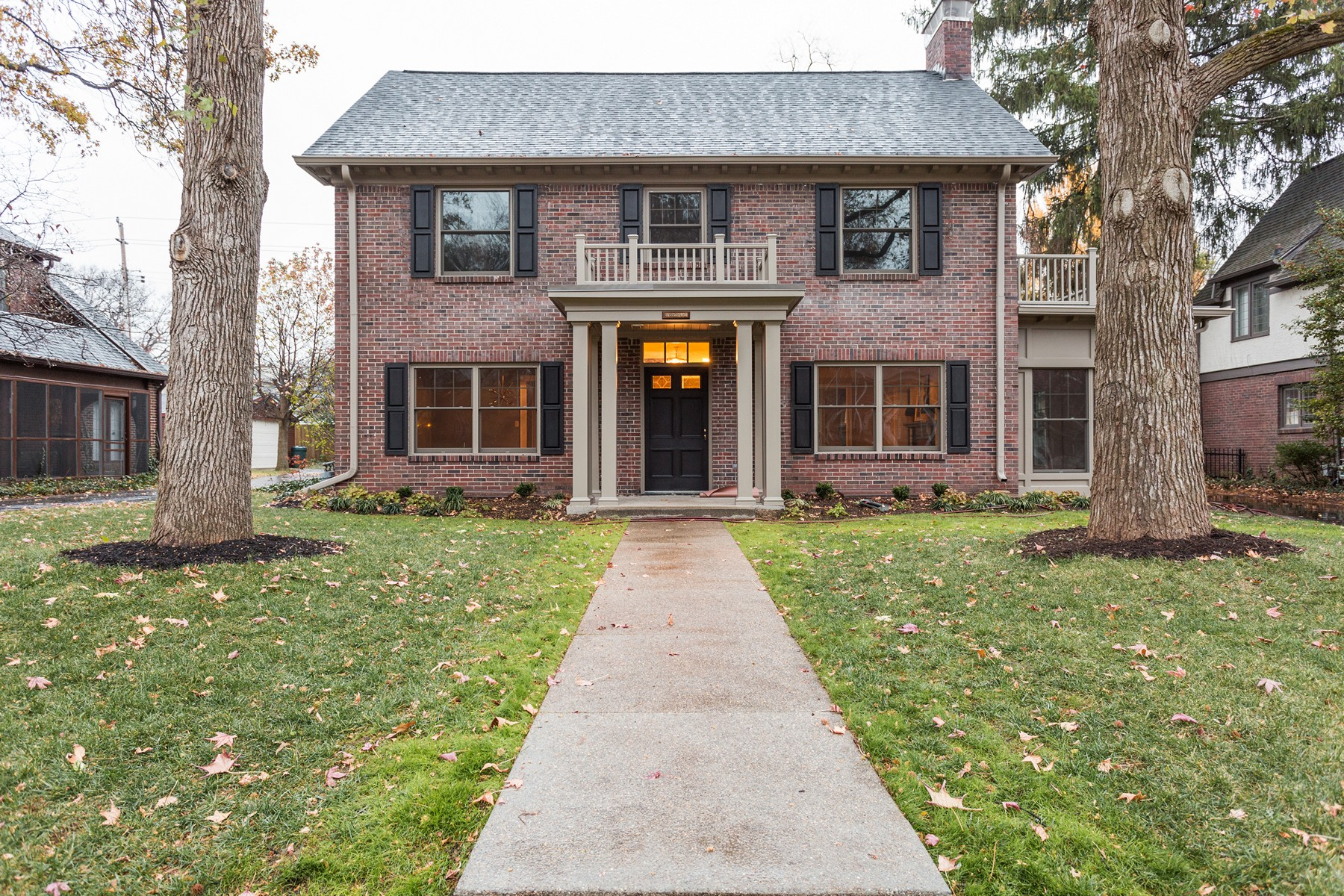 Single Family Home for Sale at Stunning Completely Renovated Residence 5249 Pennsylvania Avenue Indianapolis, Indiana 46220 United States