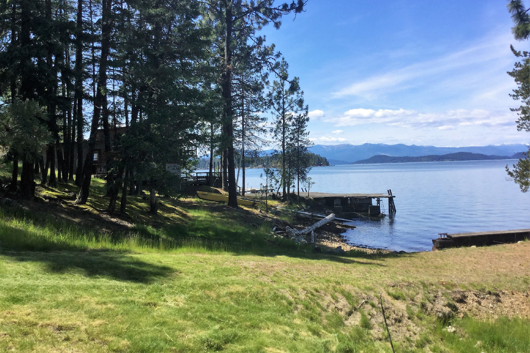 Land for Sale at Beautiful Waterfront Property 1193 Red Fir Rd Hope, Idaho, 83836 United States