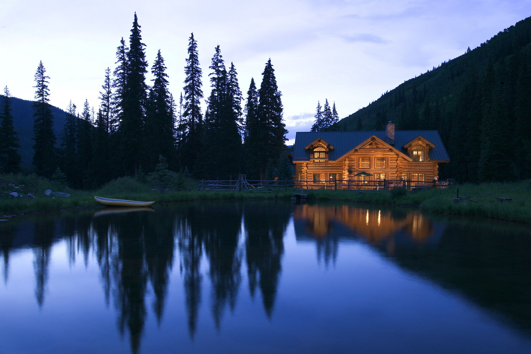 Single Family Home for Sale at Star Peak Lodge 13500 Castle Creek Road Aspen, Colorado 81611 United States