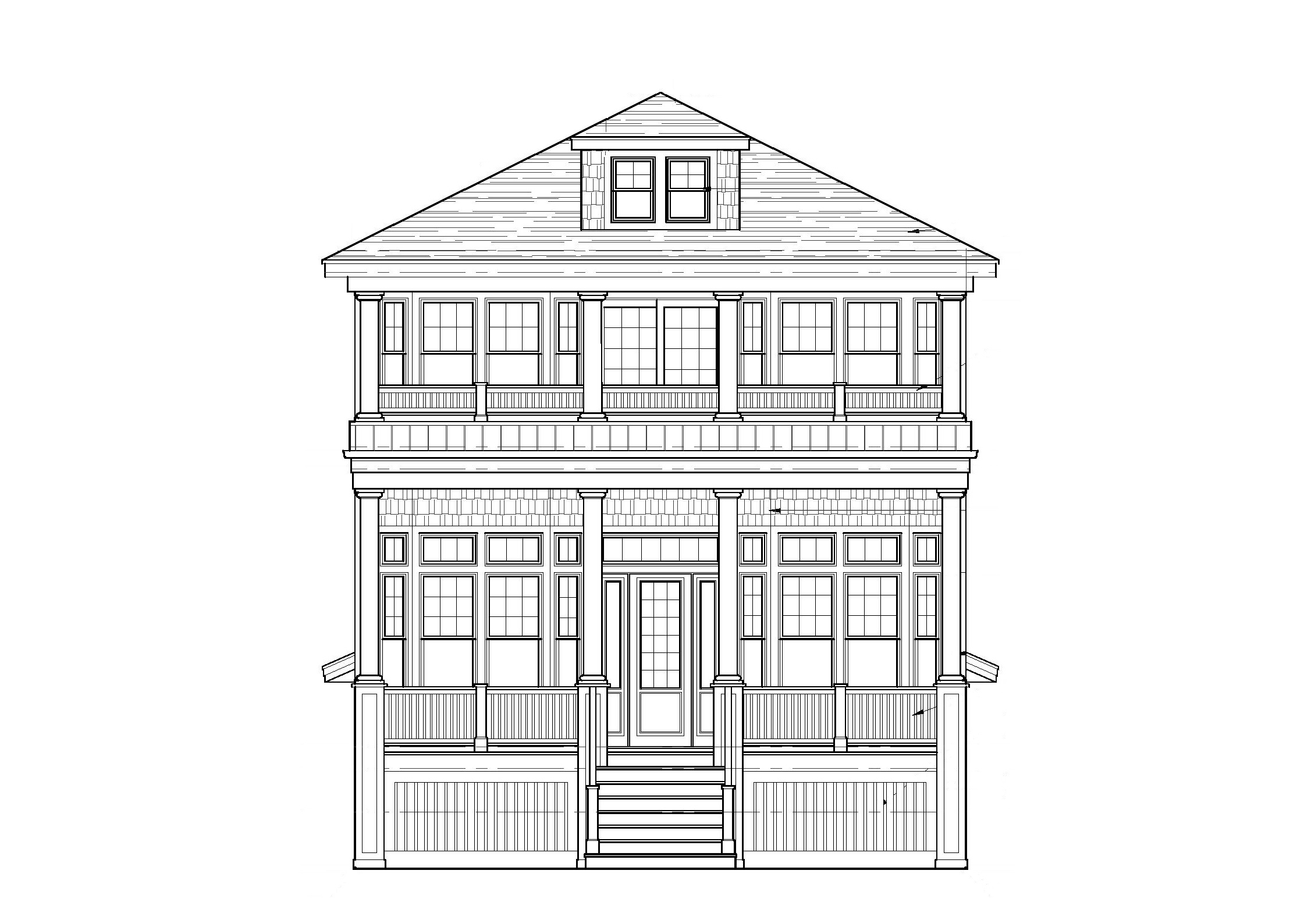 дуплекс для того Продажа на New Construction on Asbury 3533-35 Asbury Avenue Ocean City, 08226 Соединенные Штаты