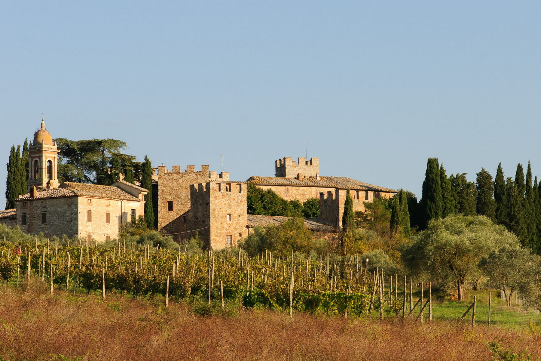 Additional photo for property listing at Glamorous Medieval Castle near Siena  Siena, Siena 53011 Italie