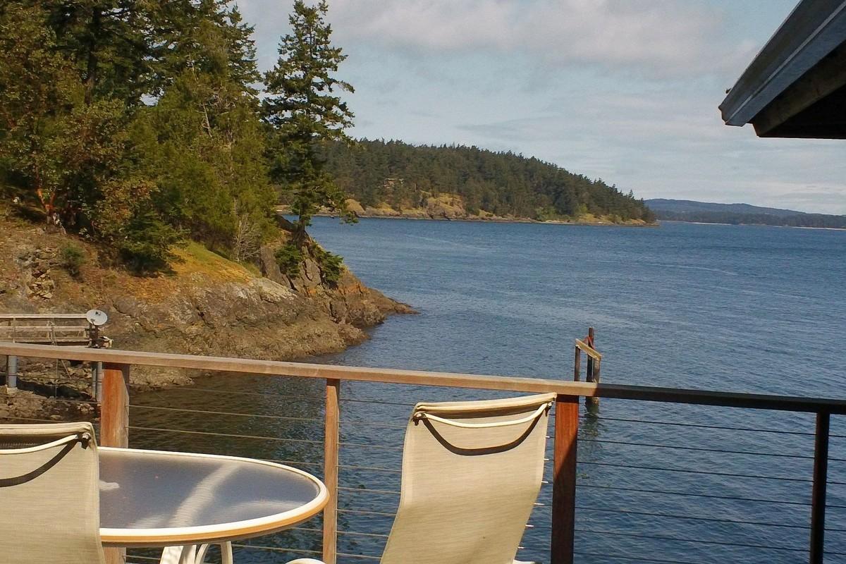 Maison unifamiliale pour l Vente à Island Living At Its Very Best Lot 29 Brown Island Friday Harbor, Washington 98250 États-Unis
