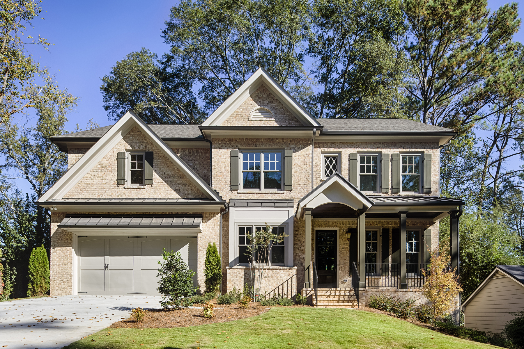 Single Family Home for Sale at Beautiful new construction in the heart of Buckhead! 1775 Warren Court NW Atlanta, Georgia, 30318 United States