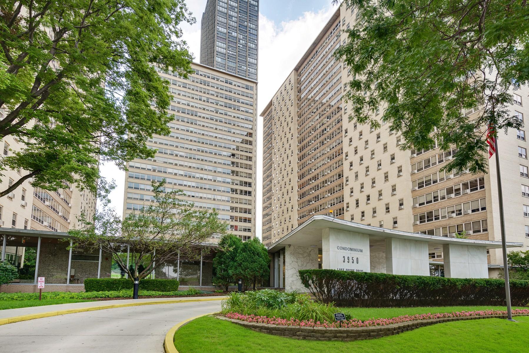 Appartement en copropriété pour l Vente à Redone Unit with Lake Views 3950 N Lake Shore Drive #1015 Chicago, Illinois, 60613 États-Unis