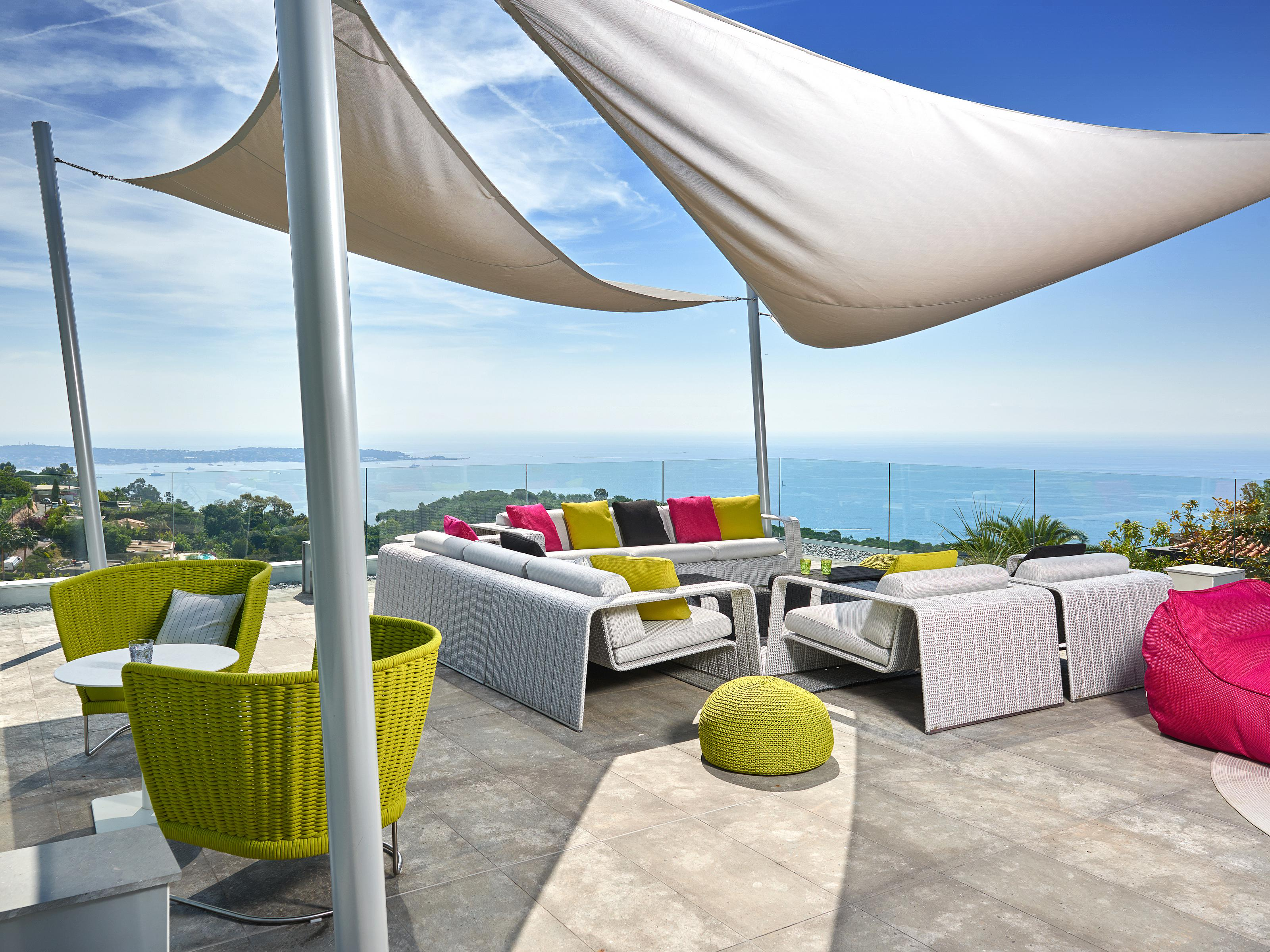 Single Family Home for Sale at Cannes - incredible contemporary villa with extraordinary sea viewS Cannes, Provence-Alpes-Cote D'Azur 06400 France