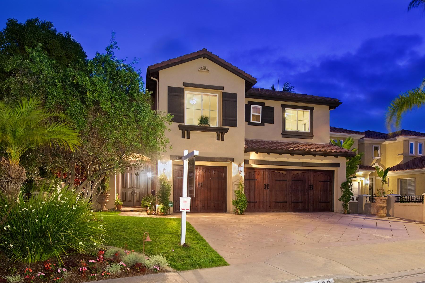 Maison unifamiliale pour l Vente à 11180 Corte Cangrejo San Diego, Californie, 92130 États-Unis