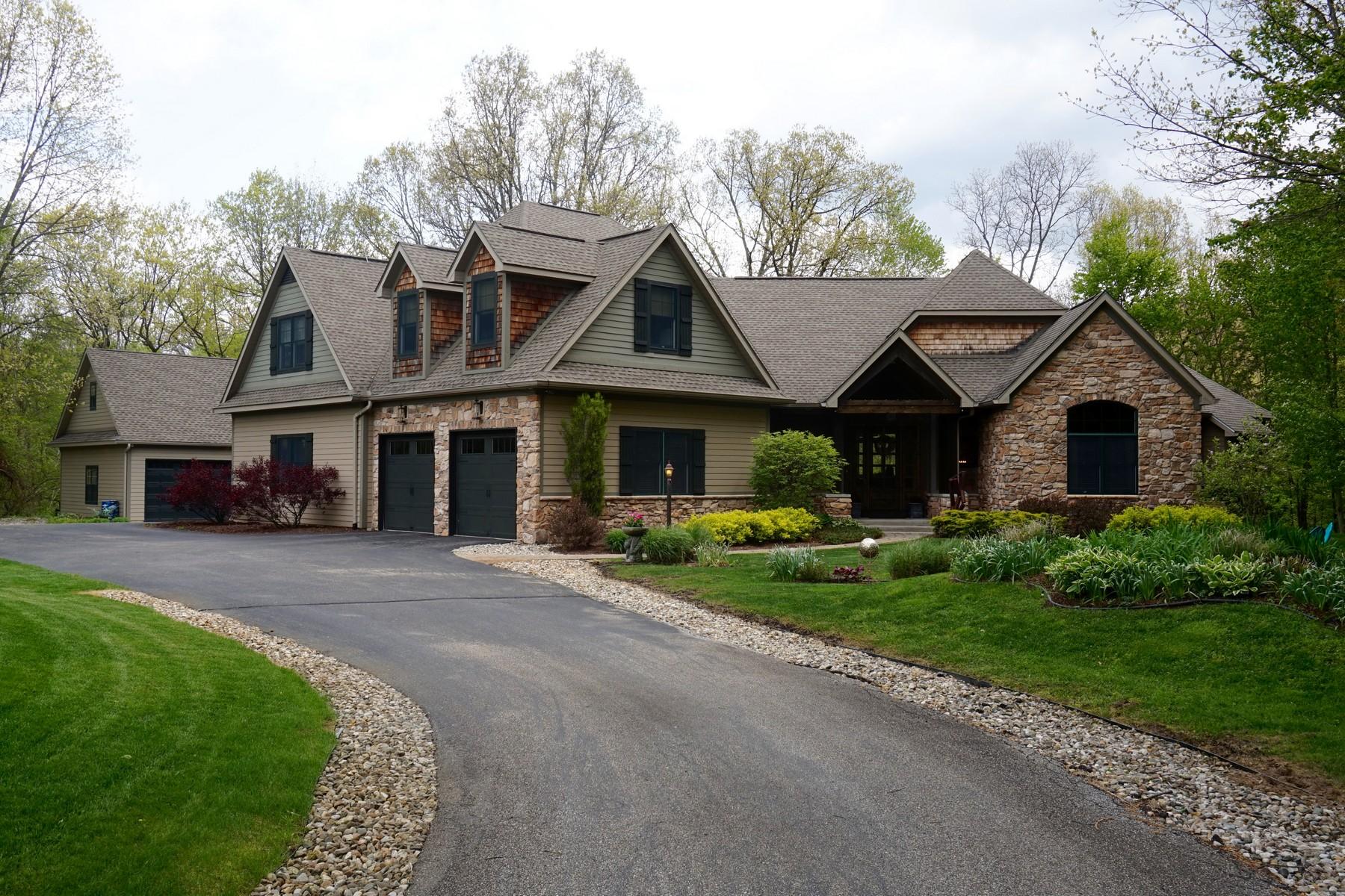 独户住宅 为 销售 在 Striking Traditional Home 1915 High Meadow 奈尔斯, 密歇根州, 49120 美国
