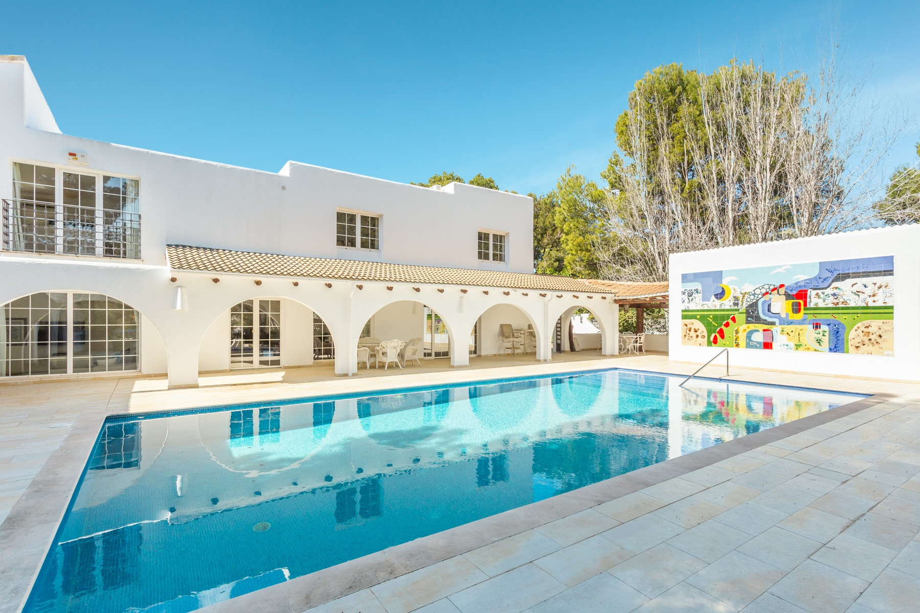 Single Family Home for Sale at Stunning Ibicencan style villa Sol de Mallorca Sol De Mallorca, Mallorca, 07181 Spain