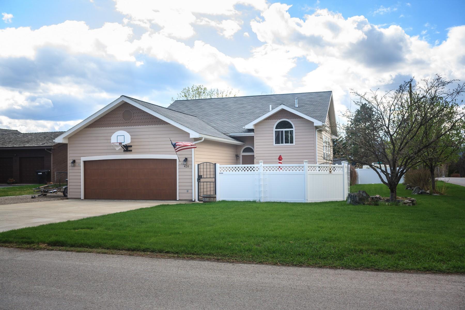 Villa per Vendita alle ore 420 Crestview Drive 420 Crestview Road Kalispell, Montana, 59901 Stati Uniti