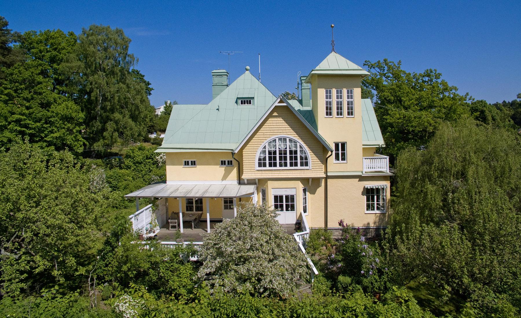 단독 가정 주택 용 매매 에 Magnificent turn-of-the-century house Stocksund, Stockholm, 스웨덴