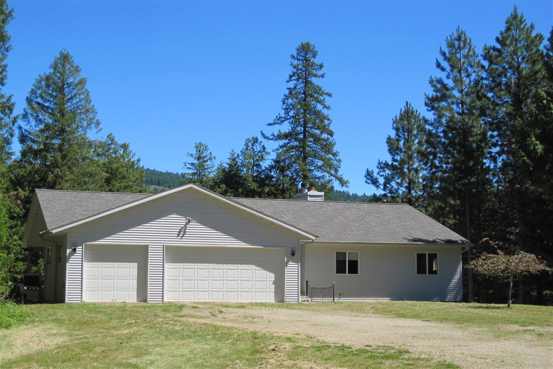 Single Family Home for Sale at Private, treed setting with mountain views 143 Sherwoods Sagle, Idaho 83860 United States