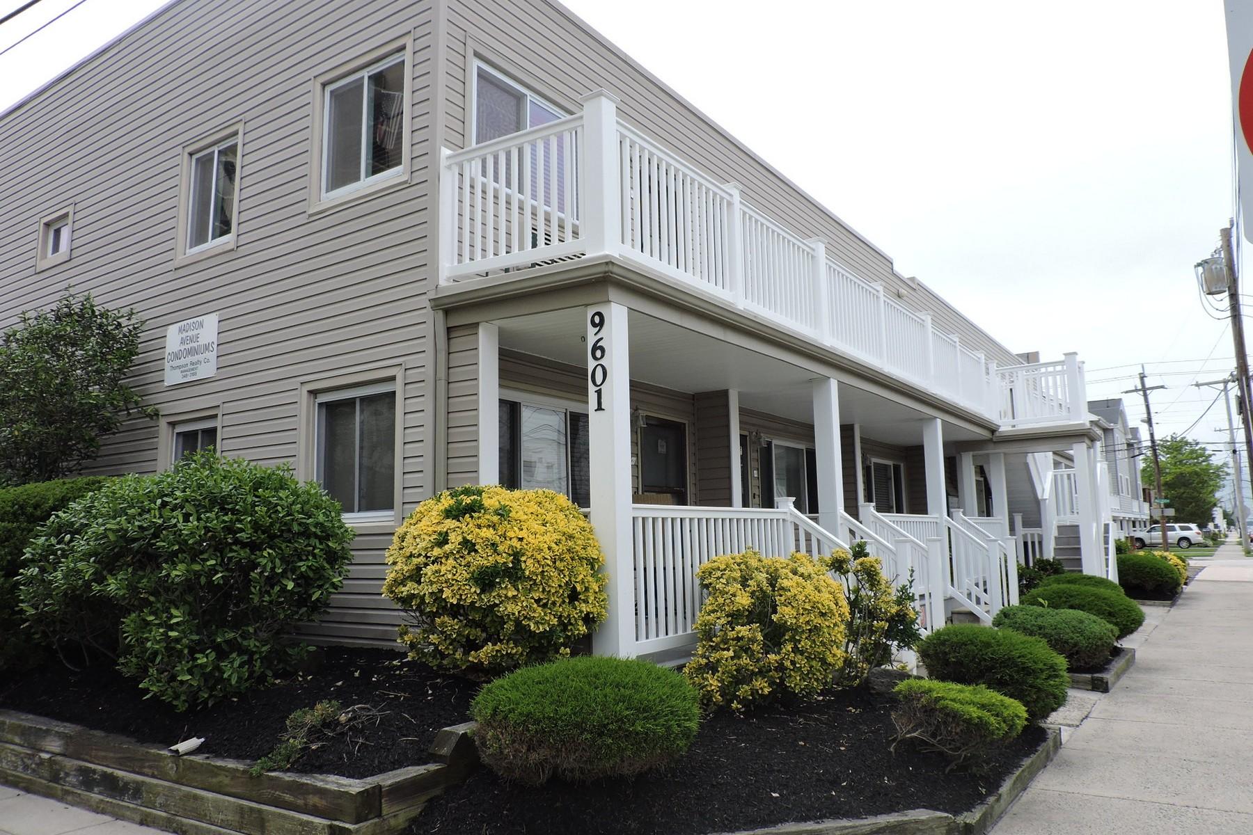Appartement en copropriété pour l à louer à 9601 Atlantic Avenue, B-11 9601 Atlantic Avenue, B-11 9601 Atlantic Avenue B-11 Madison Avenue Condos Margate, New Jersey 08402 États-Unis