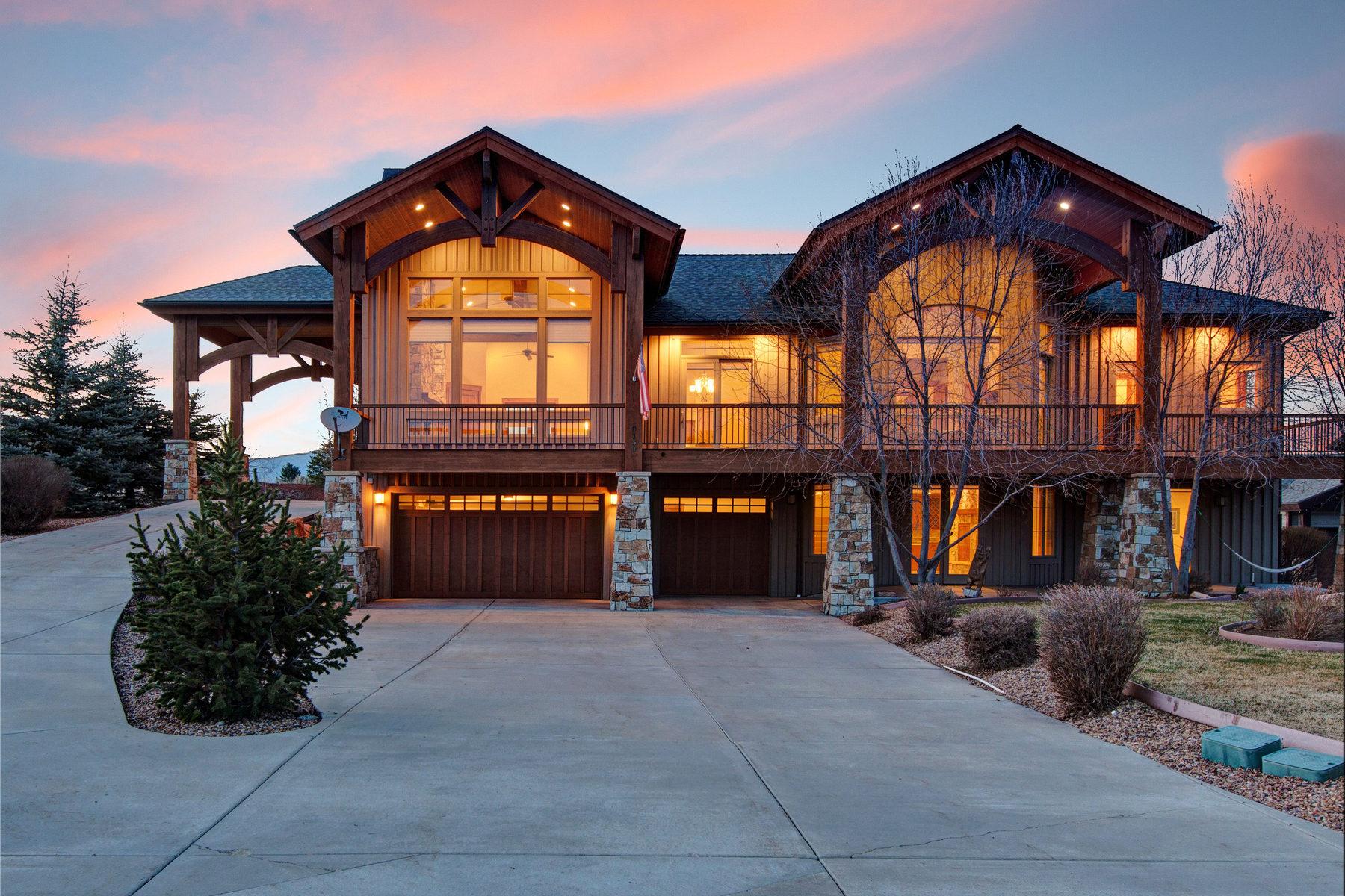 Casa Unifamiliar por un Venta en Mountain Living That Will Please All 6130 Trailside Dr Park City, Utah 84098 Estados Unidos