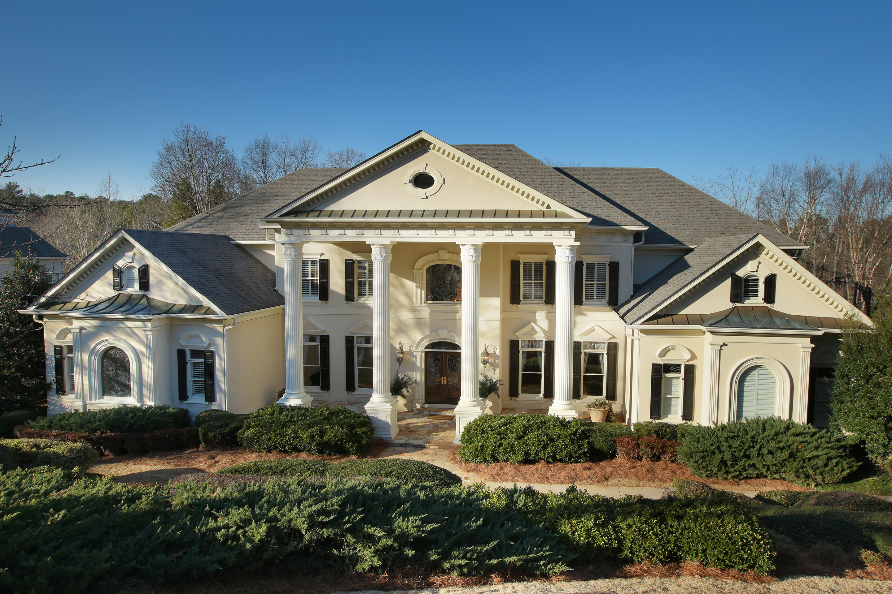 Single Family Home for Sale at European Inspired Estate 1255 Stuart Ridge Alpharetta, Georgia, 30022 United States