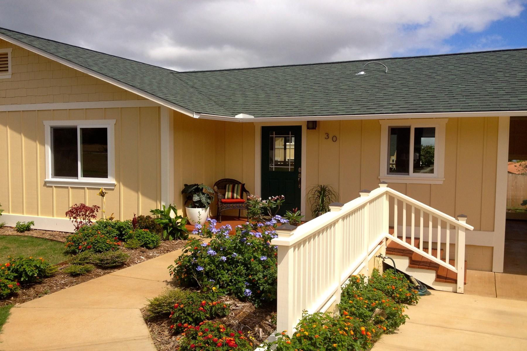 Maison unifamiliale pour l Vente à 30 Lino Place Pukalani, Hawaii 96768 États-Unis